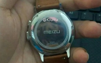 New Meizu smartwatch leak shows the wearable's back