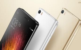 Xiaomi announces permanent price drop for the Mi 5 in India