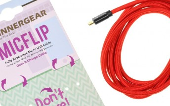 MicFlip Fully Reversible microUSB cable review