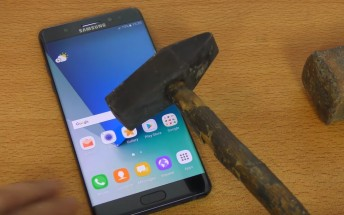 Stop! It's hammer time for the Galaxy Note7