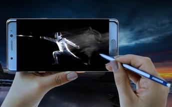 Samsung Galaxy Note7 storage speed test