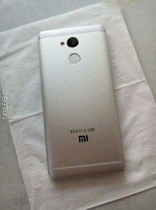 Xiaomi Redmi 4: Back
