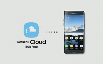 Samsung now has a Cloud of its own and Note7 users get 15GB free