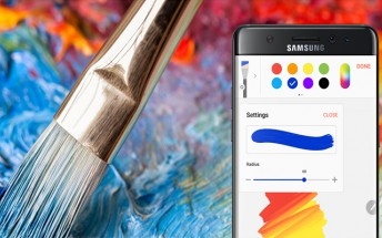 Samsung Galaxy Note7's S Pen app  coming to older devices