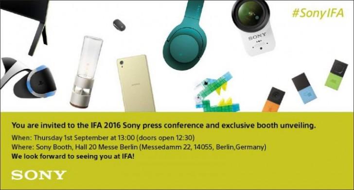 سوني تدعو الجميع لرؤية جديدها خلال مؤتمر IFA 2016