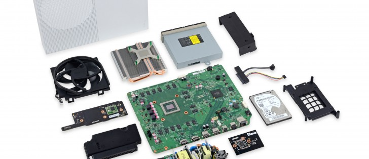 Xbox One S teardown yields 8 out of 10 repairability score ...