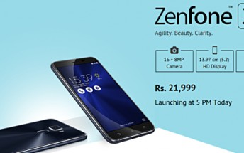 Online retailer jumps the gun, reveals Asus Zenfone 3 India pricing ahead of launch