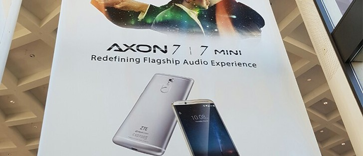 ZTE teases Axon 7 mini with dual-speaker for IFA event ...