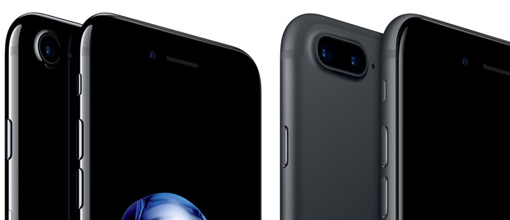 GSMARENA IPHONE X VS IPHONE 7 PLUS