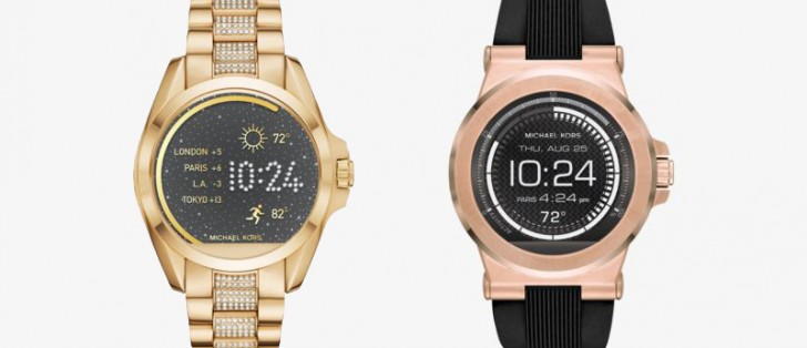 Michael Kors releases two Android Wear smartwatches ...