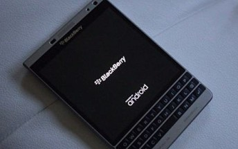 Android-powered BlackBerry Passport Silver Edition unit up for grabs