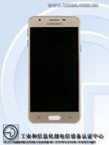 Samsung SM-G5510 (photos by TENAA)