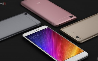 Xiaomi launches Mi 5s and Mi 5s Plus