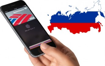 Russia is now officially the 10th country with Apple Pay