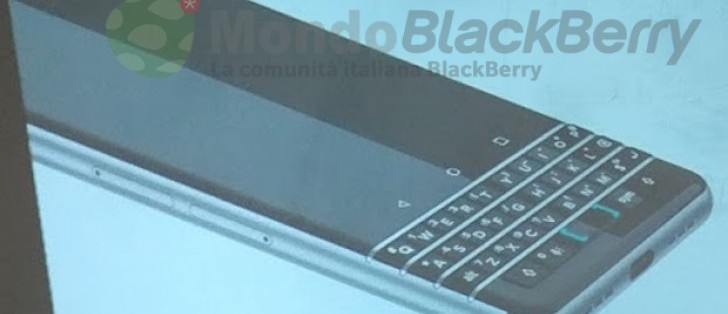 Upcoming BlackBerry Mercury with physical keyboard ...