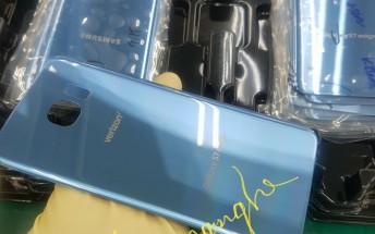 Blue Coral Samsung Galaxy S7 edge is headed to Verizon soon