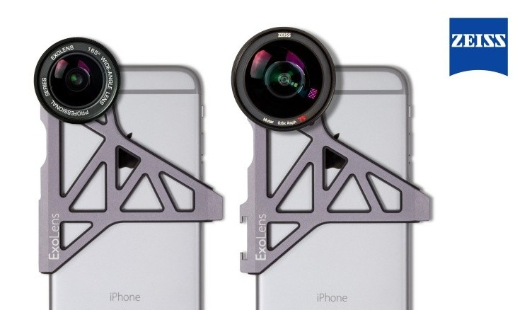 official photos b4a0a bf9d2 ExoLens announces accessory lenses for the iPhone 7 - Pro and Prime ...