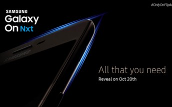 Samsung teases new Galaxy On phone; coming October 20