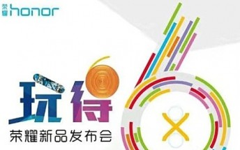 Huawei confirms October 18 unveiling for Honor 6X