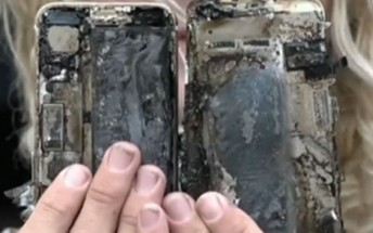 iPhone 7 goes up in flames, sets fire to vehicle in Australia