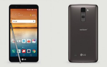 Verizon unveils the LG Stylo 2 V, available tomorrow