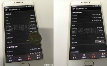 Meizu Pro 6s live images leak its specs