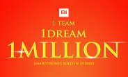 Xiaomi sells 1M phones in India in just 18 days, CEO celebrates