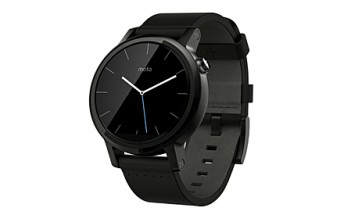 Second-gen Moto 360 (42mm, black) again going for $200; $50 Visa prepaid card included as well