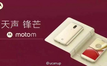 Moto M gets portrayed in leaked renders, live images