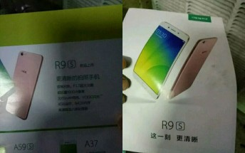 Oppo R9S spotted on a pamphlet, launch date still unclear