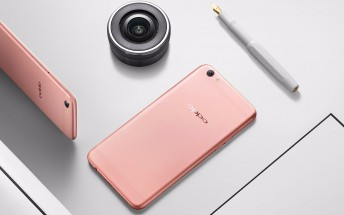 Oppo R9s and R9s Plus become official with 16 MP cameras both on the front and on the back