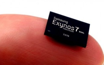 Samsung's 14nm Exynos 7 Dual 7270 now in mass production