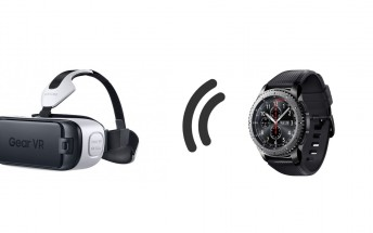 Samsung is working on a way to control Gear VR with a Gear smartwatch
