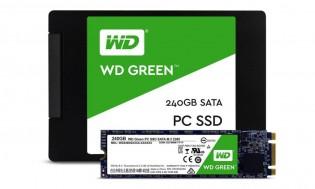 Western Digital's first SSDs: Green
