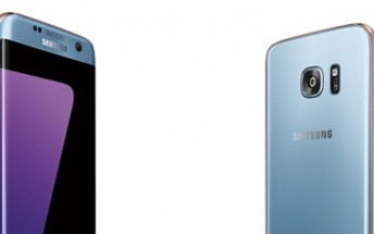 Blue Coral Samsung Galaxy S7 edge officially announced, landing in selected markets November 1