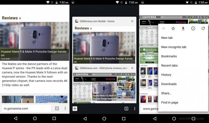 Chrome for Android beta testing bottom URL bar - GSMArena blog