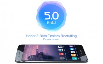 Honor UK has launched a EMUI 5 beta test for the Honor 8