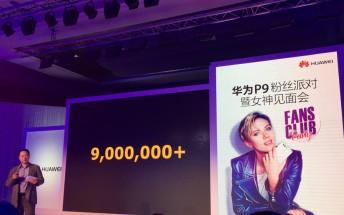Huawei P9 sales reach 9 million