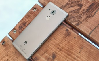 Huawei Mate 8 Nougat update leaks ahead of release