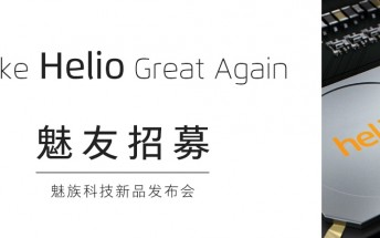 Meizu X might be the company's big, upcoming Helio announcement