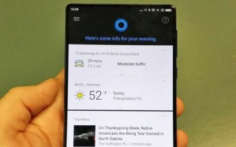 Xiaomi Mi Mix comes with Cortana pre-installed