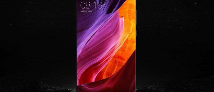 Alleged image of Xiaomi Mi Mix Nano about screen shows its specs