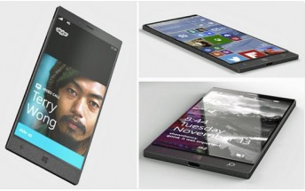 Concept photos? Or actual renders? This could be the long-awaited Surface Phone
