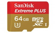 64GB SanDisk microSD card going for around $45 in US
