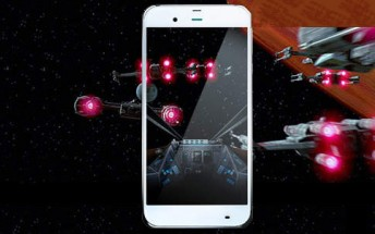 Sharp unveils Star Wars-themed phone for SoftBank