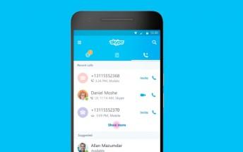 Skype for Android gets UI tweaks in latest update
