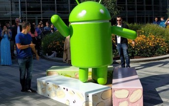 Nougat debuts in the Android distribution chart with three times the market share of Froyo