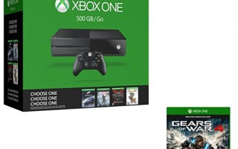 Xbox One (500GB) Name Your Game Bundle and Gears of War 4 going for £170 in UK