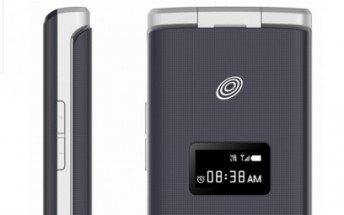 ZTE CYMBAL-T flip phone launched with 3.5-inch display, 5MP camera