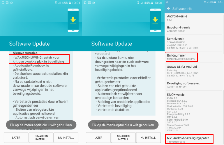 screenshot android samsung a5 2016